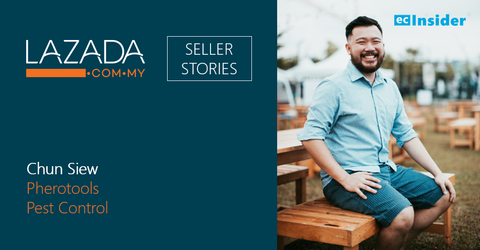 Lazada Seller Stories #3: Chun Siew, Pherotools